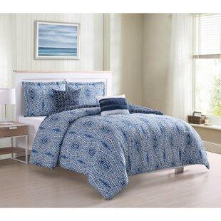 Grindle 5 Piece Reversible Comforter Set