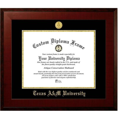 Diploma Frame Deals Texas A & M University Avalon Diploma Picture ...