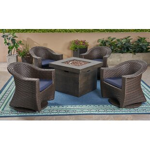 Kiser 5 Piece Sofa Seating Group