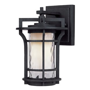 Affordable Price Espitia Outdoor Wall Lantern By Millwood Pines