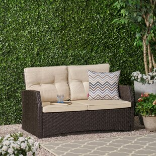 Wendell Garden Loveseat With Cushions By Sol 72 Outdoor