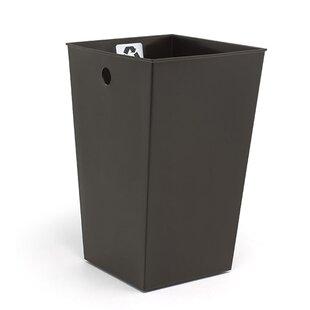 Ebern Designs Lincoln Liner Plastic 2 Gallon Recycling Bin (Set of 4)