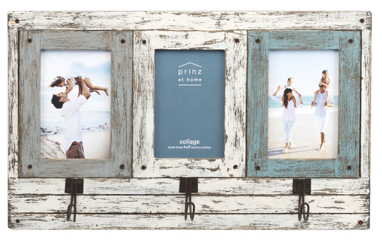 Prinz waters edge collage wooden picture frame reviews wayfair waters edge collage wooden picture frame jeuxipadfo Gallery
