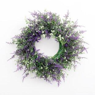 25cm Lavender Wreath By The Seasonal Aisle