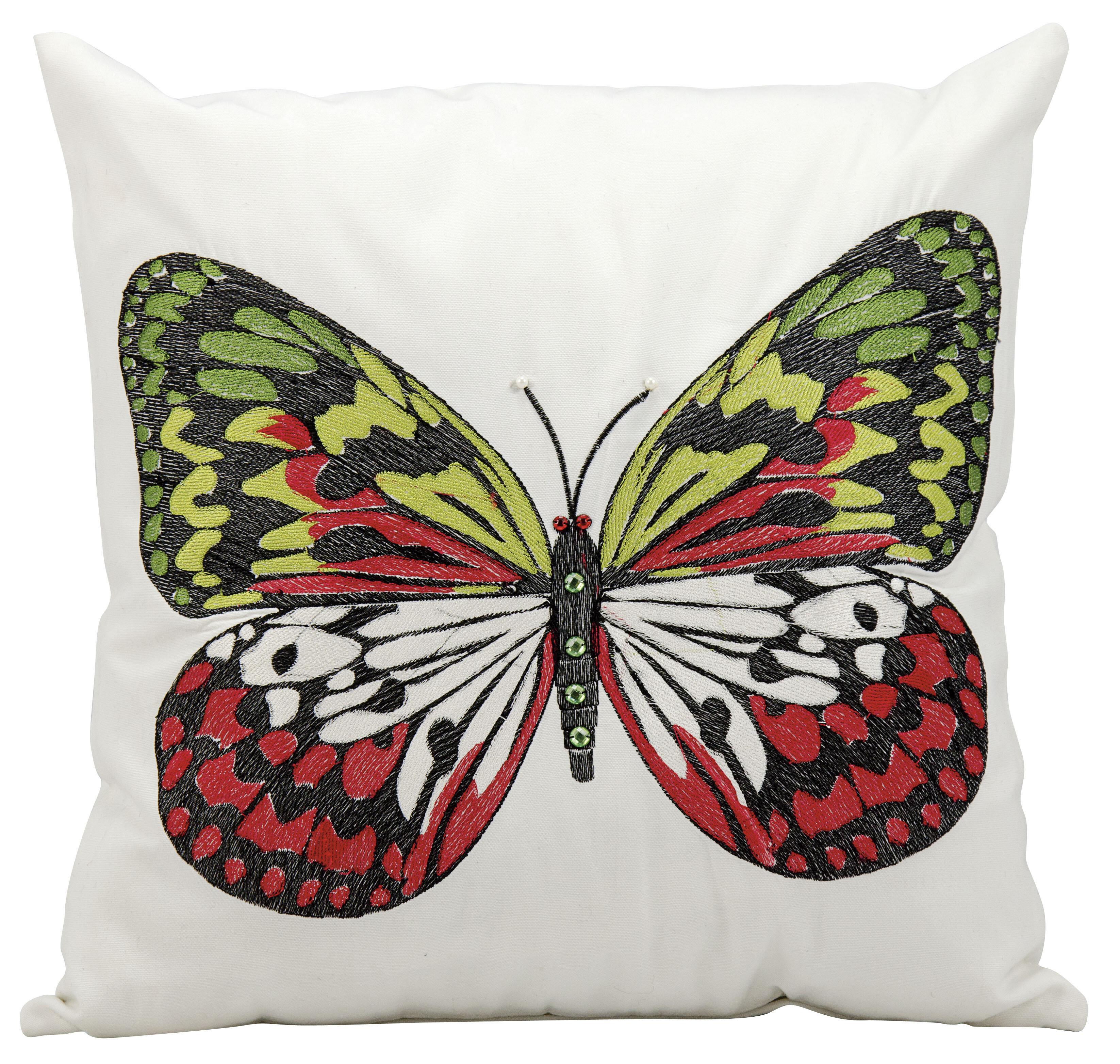 Nourison Butterfly Throw Pillow Wayfair