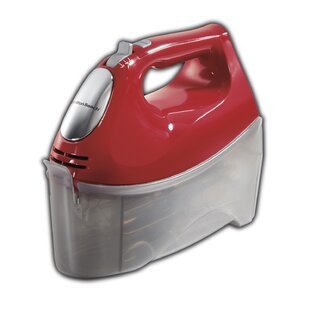 Ensemble 6 Speed Hand Mixer with Snap On Case