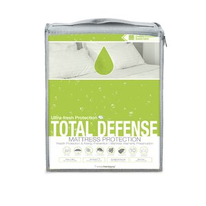 Total Defense Hypoallergenic Waterproof Mattress Protector by Glideaway