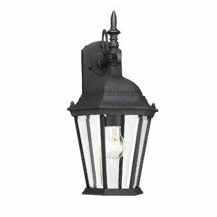 Where buy  Betton 1-Light Outdoor Wall Lantern By Fleur De Lis Living