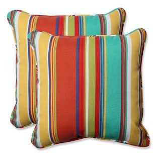 Indoor/Outdoor Throw Pillow (Set of 2)