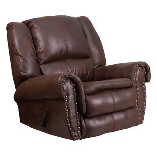 Jaxxon Breathable Comfort Padre Manual Rocker Recliner by Darby Home Co