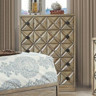 Marilynn 5 Drawer Chest by Bungalow Rose Today Sale Only