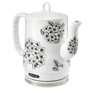 Floral 1.27 Qt Electric Tea Kettle