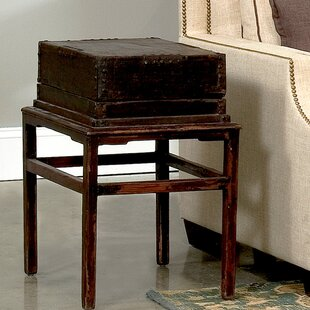 Sarreid Ltd Hampton Box on Stand End Table