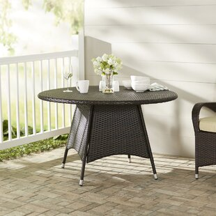 Brayden Studio Andujar Wicker Bistro Table