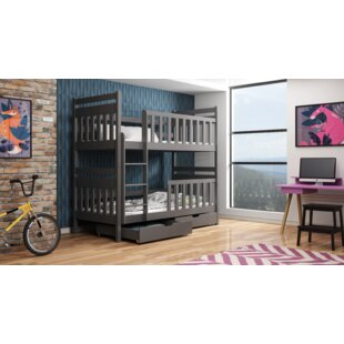 Knowles Single Bunk Bed With Drawers By Harriet Bee