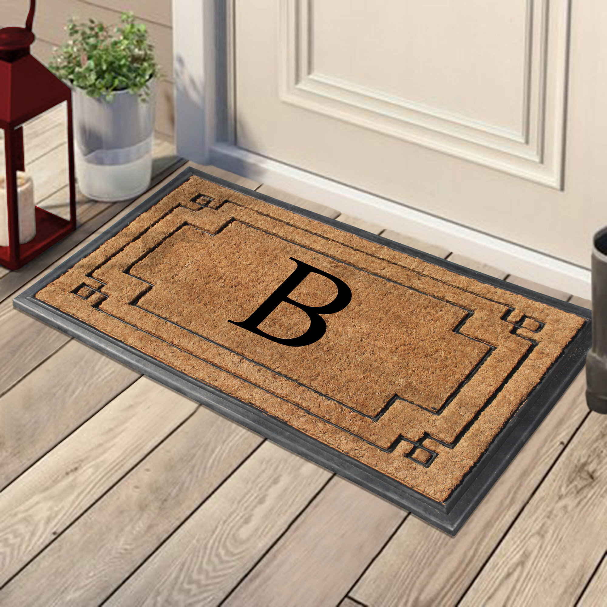 Gracie Oaks Bendon 36 X 24 Non Slip Outdoor Door Mat Wayfair