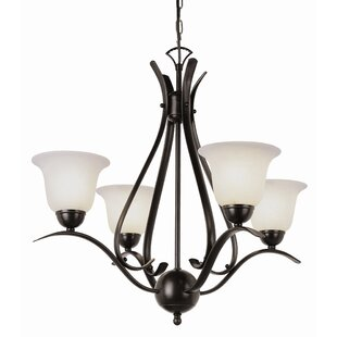 Newent 4-Light Semi Flush Mount by Charlton Home