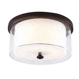 Drum ceiling fan with light wayfair 1 light bowl ceiling fan light kit aloadofball Images