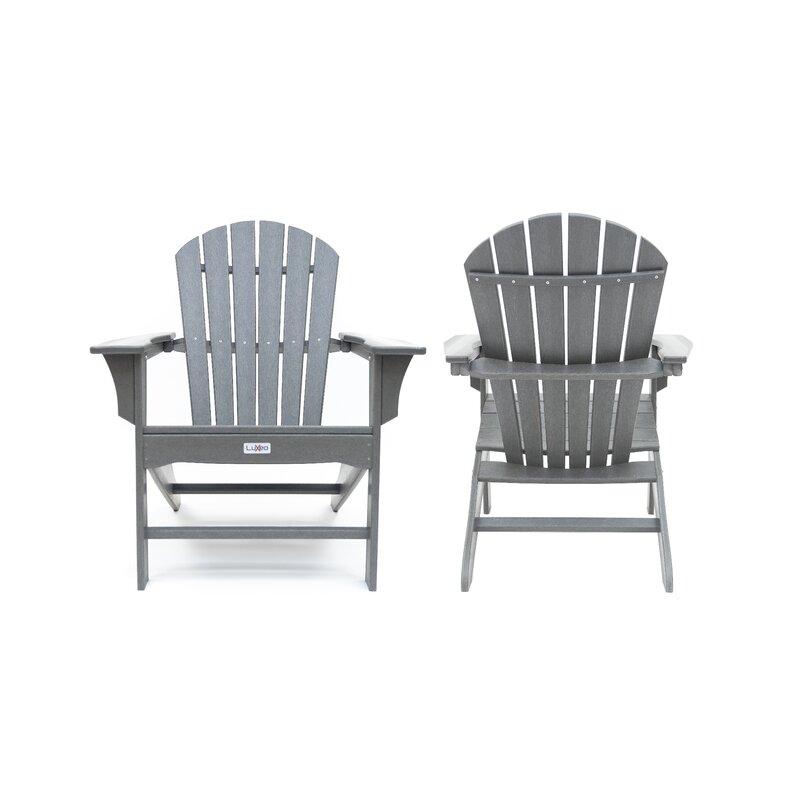 Merveilleux Corinne Plastic Adirondack Chair