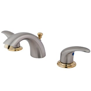 Daytona Widespread faucet Bathroom Faucet with Drain Assembly By Elements of Design