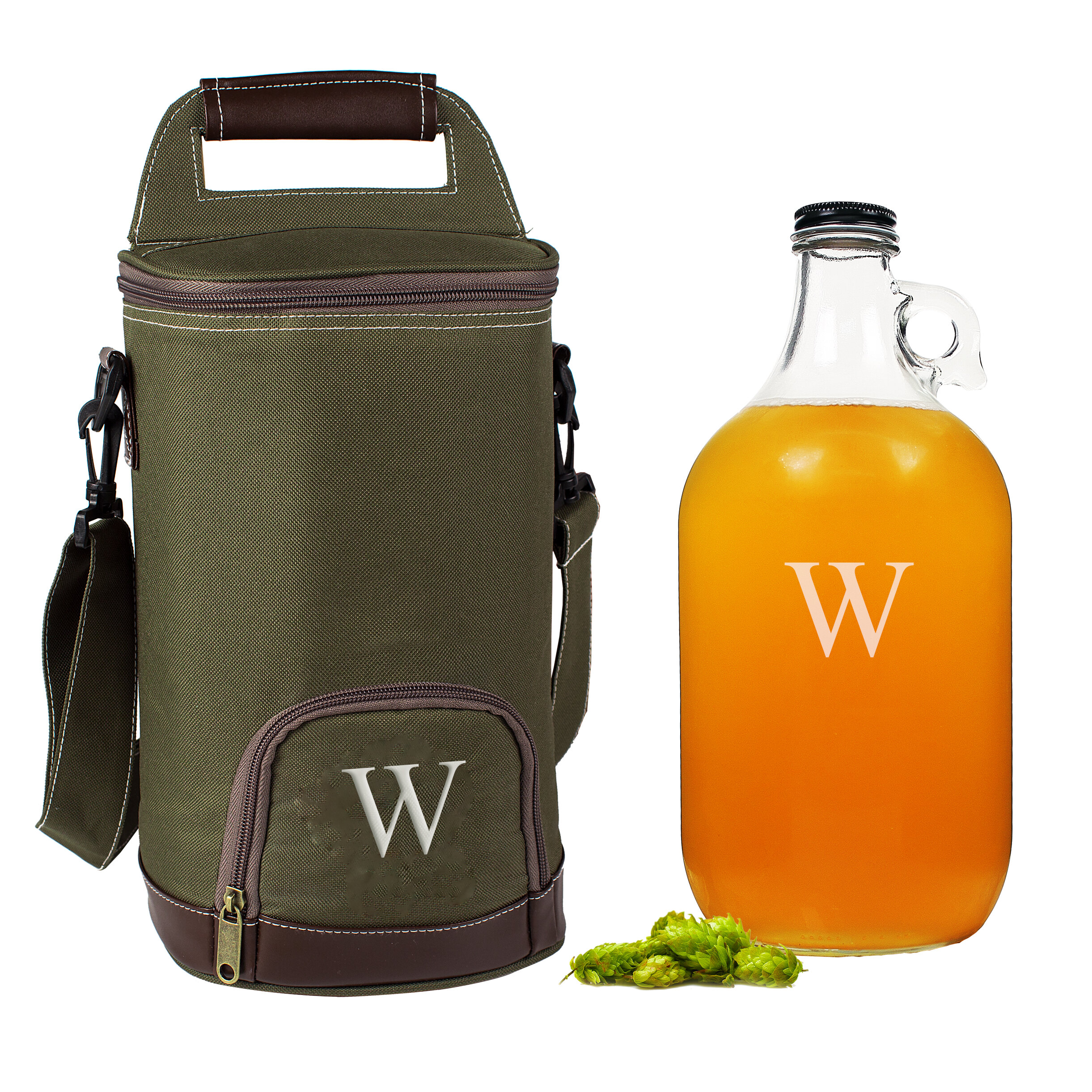 Cathys Concepts Personalized Insulated Growler Cooler with Growler    Reviews  361195402b28c