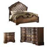 Bianca Upholstered Standard Configurable Bedroom Set by Astoria Grand