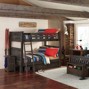 Compare & Buy Stella Full Bunk with 2 Storage Units and Hanging Nightstand by Grovelane Teen Reviews (2019) & Buyer's Guide
