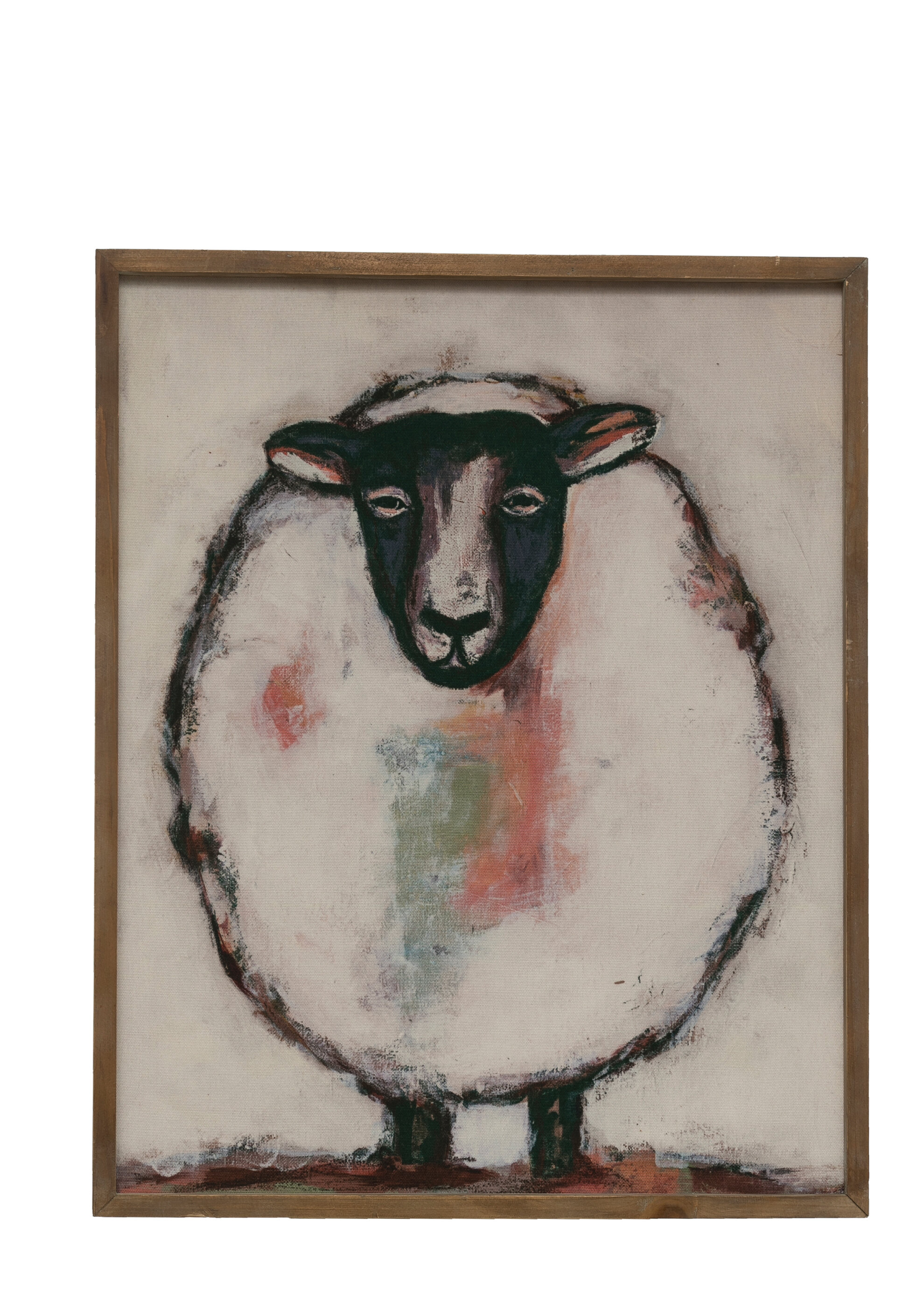 Rosalind Wheeler Sheep Picture Frame Print On Paper Wayfair