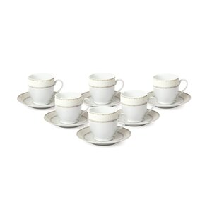 Buy Espresso Cup and Saucer Set (Set of 6)!