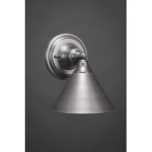 Reviews Tajik 1-Light Wall Sconce By August Grove