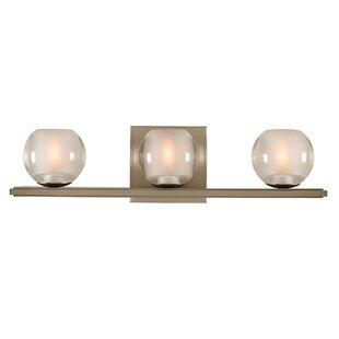 Kalco Corona 3-Light LED Vanity Light