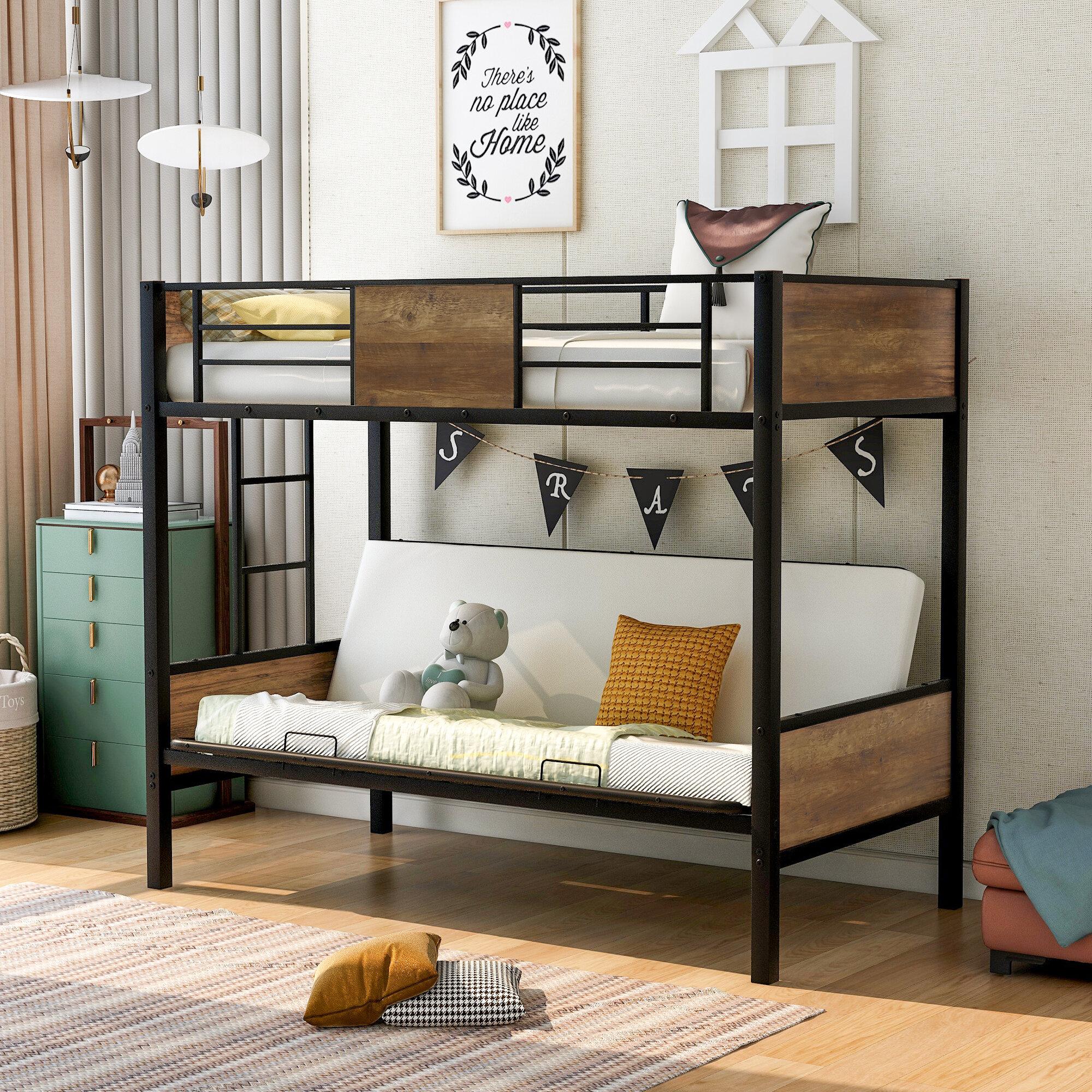 Futon Bunk Beds You Ll Love In 2021 Wayfair