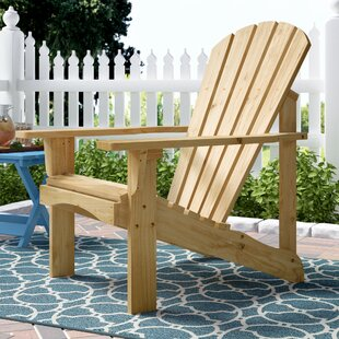 Biddeford Solid Wood Adirondack Chair