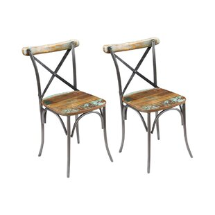 Shona Solid Wood Dining Chair (Set Of 6) By Williston Forge