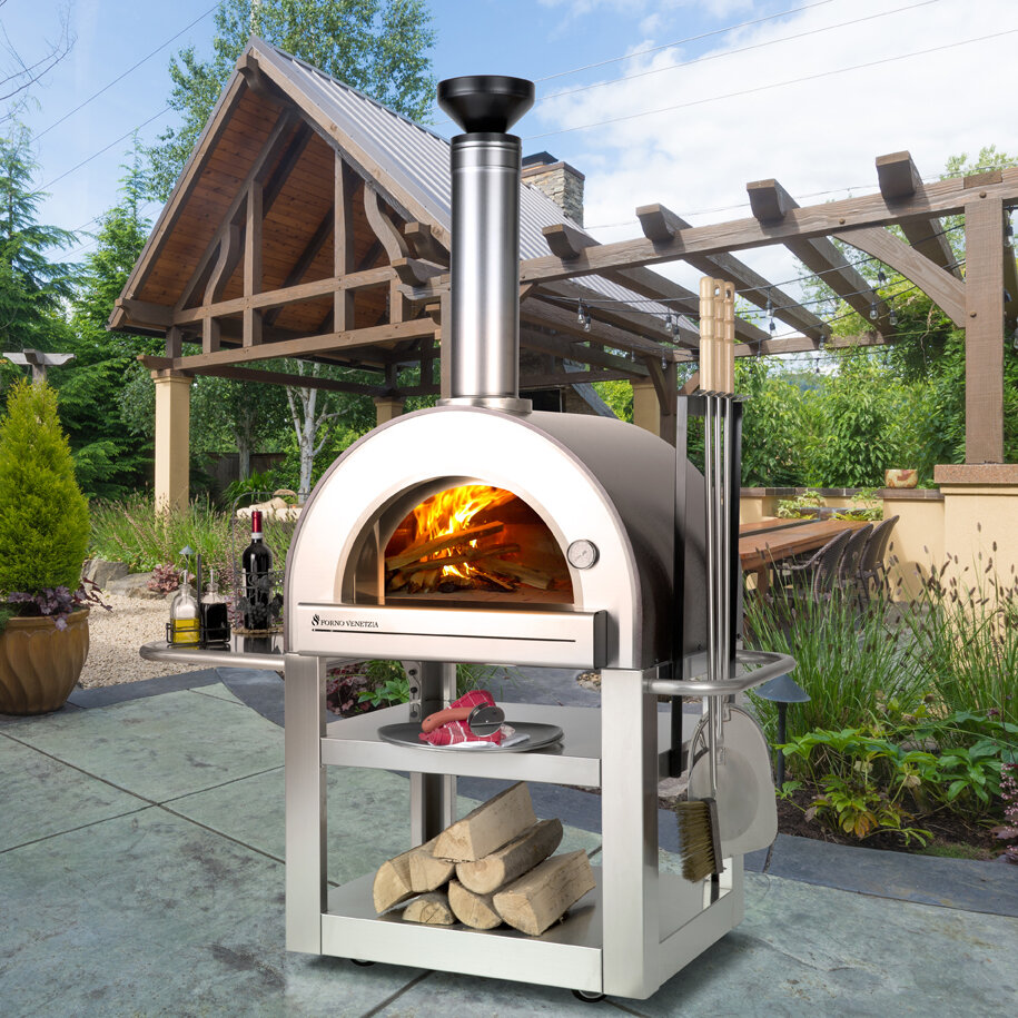 Thermomètre Four À Pain 500 four à pizza extérieur pronto 500
