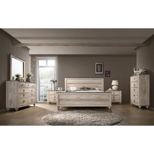 Gracie Oaks Manzano Panel 6 Piece Bedroom Set