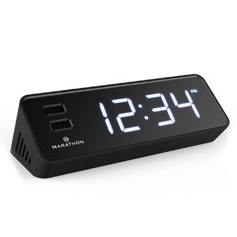 La Crosse Technology Technology Curved Tabletop Clock & Reviews