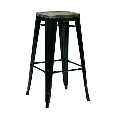 Isabel Bar Counter Stool Laurel Foundry Modern Farmhouse Frame Color Black Seat Color Ash Cameron Seat Height Counter Stool 26a Seat Height