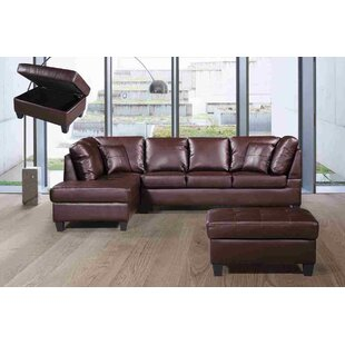 Wrought Studio Judson Sectional with Otto..