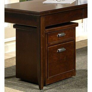 Martin Home Furnishings Tribeca Loft 2-Drawer Mobile File Cabinet