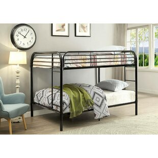 Great Price Alderete Twin over Twin Bunk Bed by Harriet Bee Reviews (2019) & Buyer's Guide