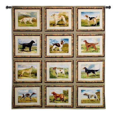 Sporting Dogs Tapestry Fine Art Tapestries
