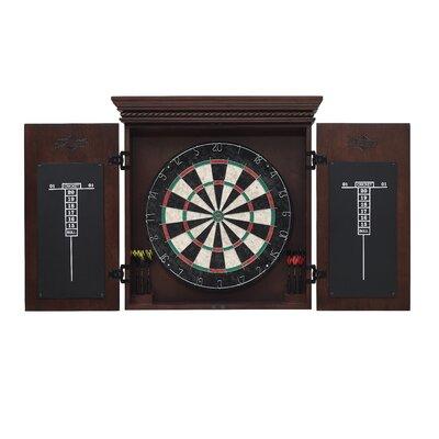 Cavalier Dart Board Cabinet Set American Heritage