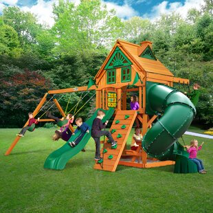 Gorilla Playsets Mountaineer Treehouse Swing Set