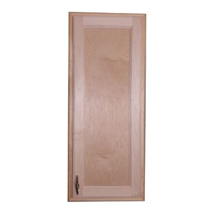 Christopher 15 W x 31 H Recessed Cabinet by WG Wood Products