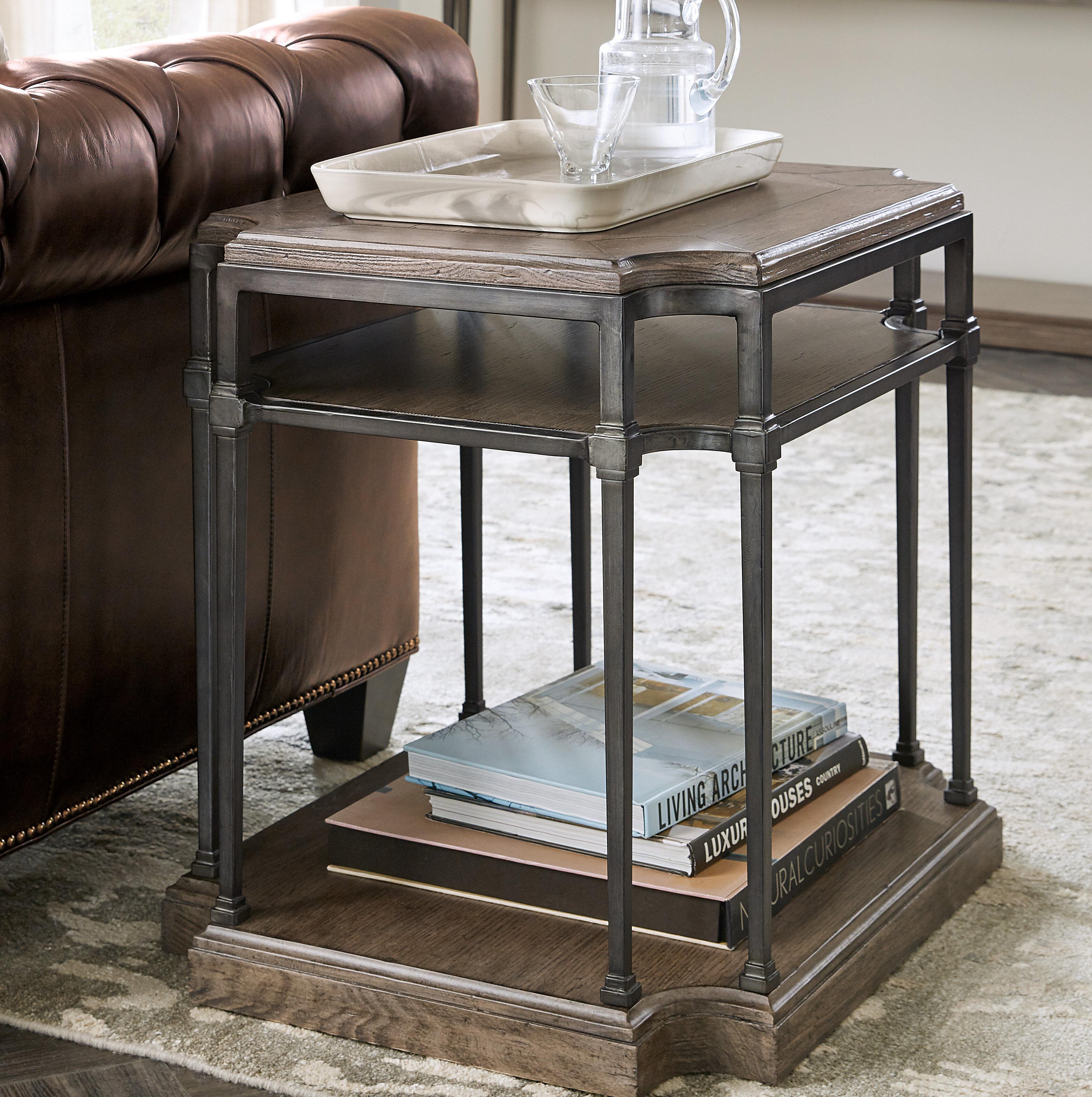 Hooker Furniture Woodland Frame End Table Wayfair