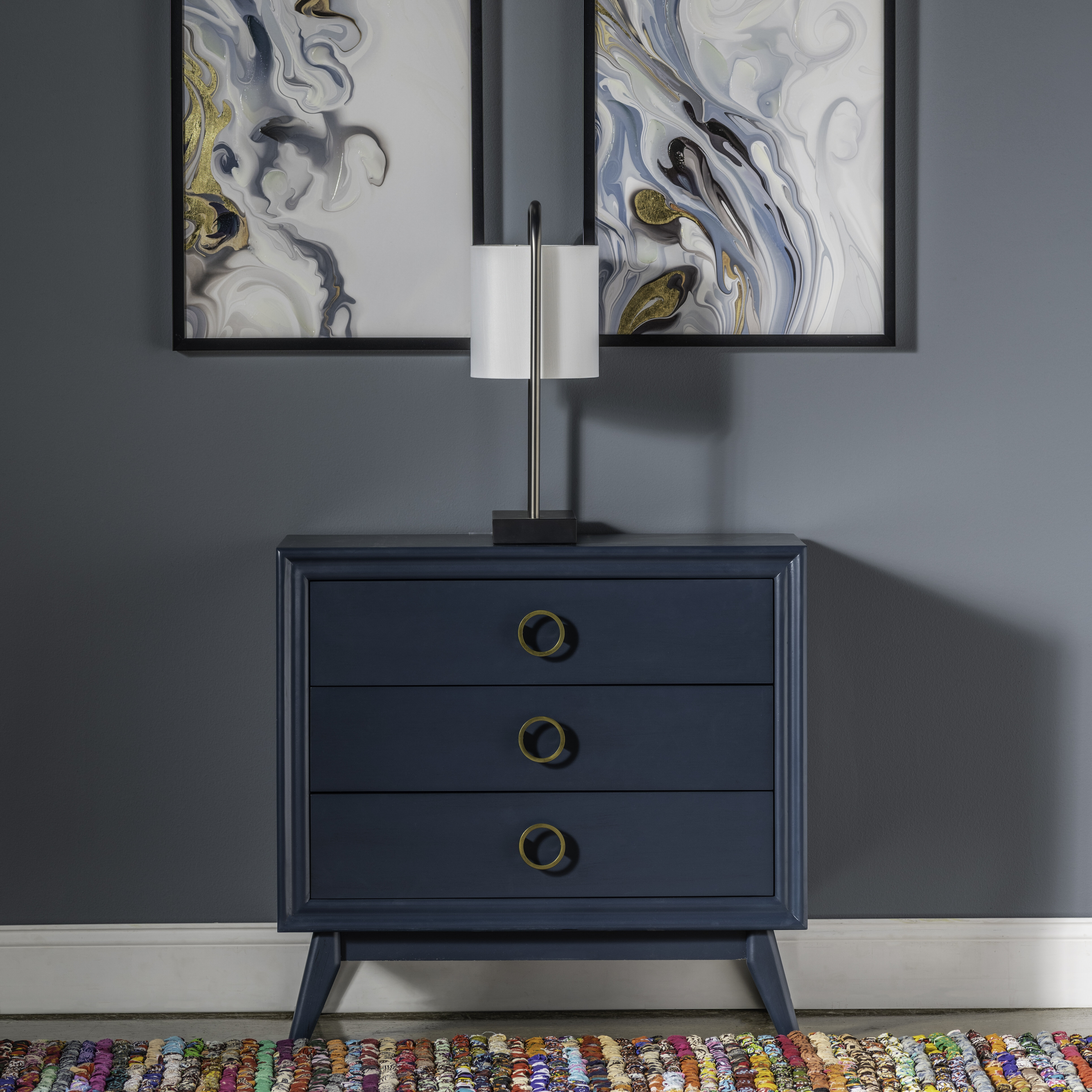 Cuomo 3 Drawer Bachelor S Chest