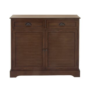 2 Door 2 Drawer Wood Accent Cabinet by Cole & Grey