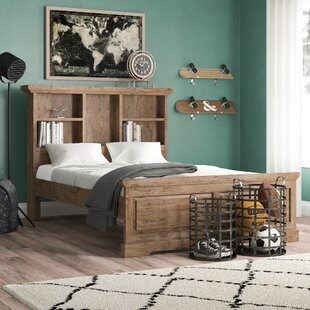Elise Bookcase Twin Slat Bed