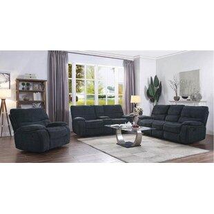 Eneas Motion 3 Piece Reclining Living Room Set by Latitude Run